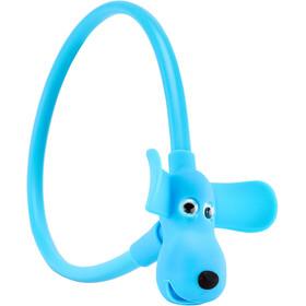 Cube RFR HPS Candado de cable Perro Niños, azul